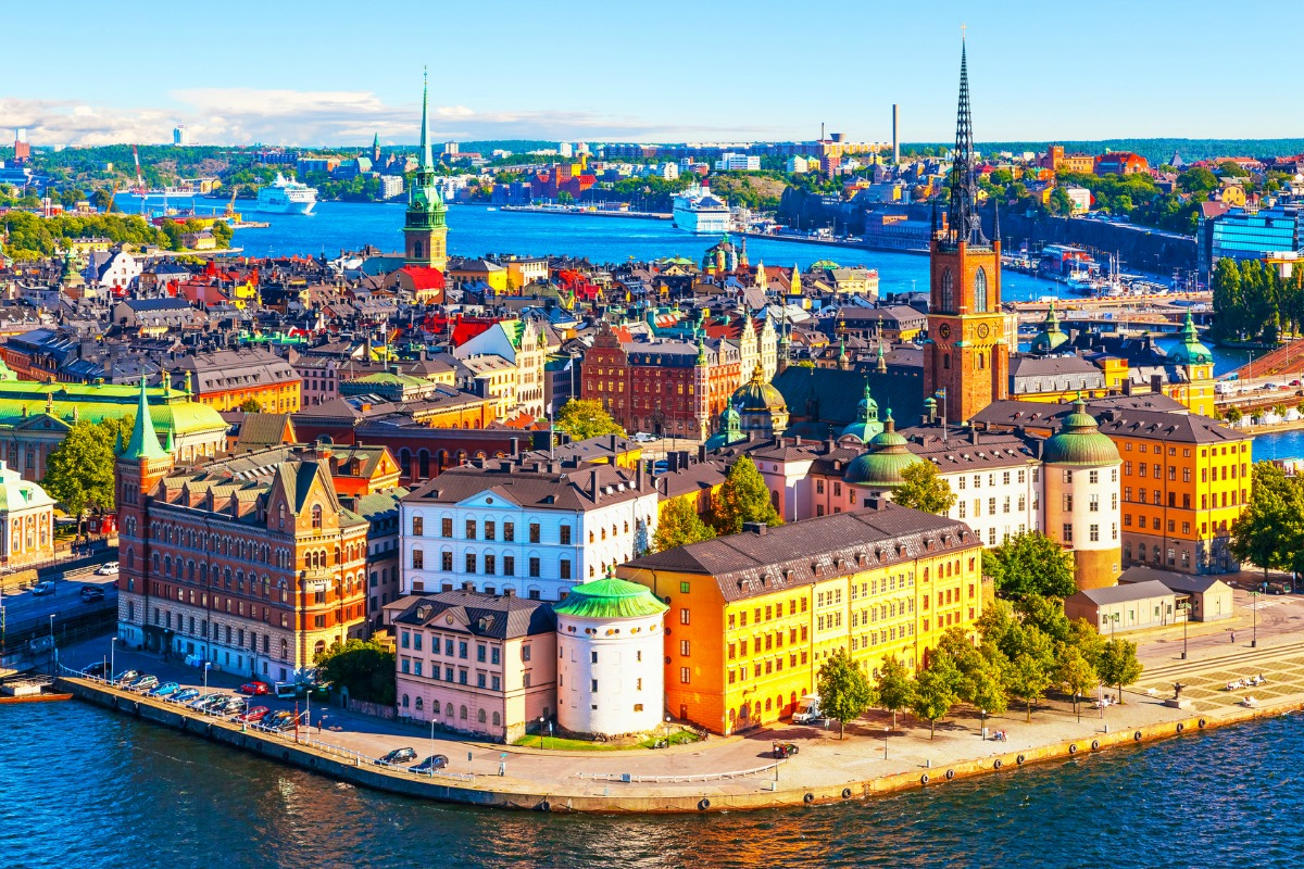 Sweden is located in the continent of Europe.