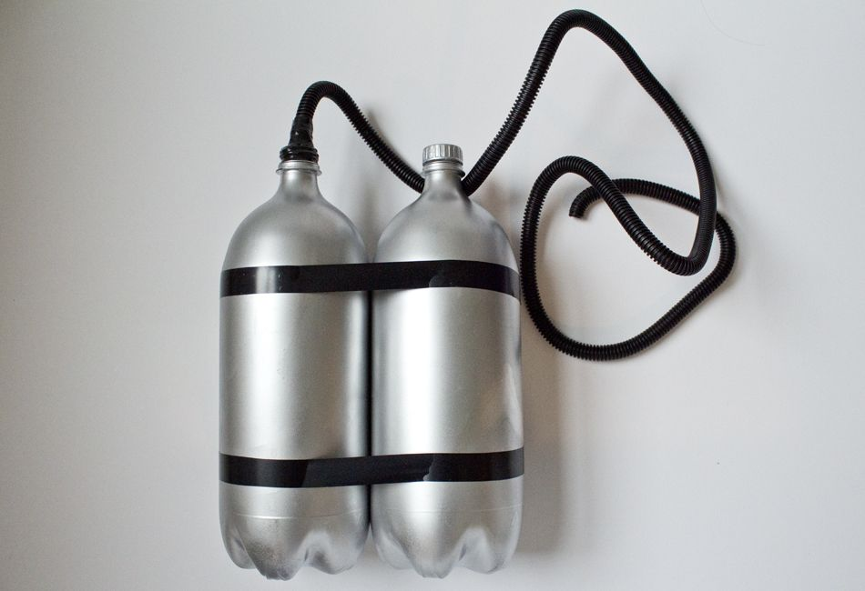 To dilute the oxygen, Helium is frequently assorted with oxygen in scuba air tanks.
